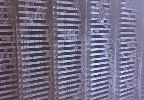 橡胶陶瓷棒条筛板