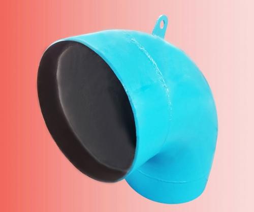 Densit®陶瓷弯头和复杂几何体(可涂抹、浇注、喷涂陶瓷)
